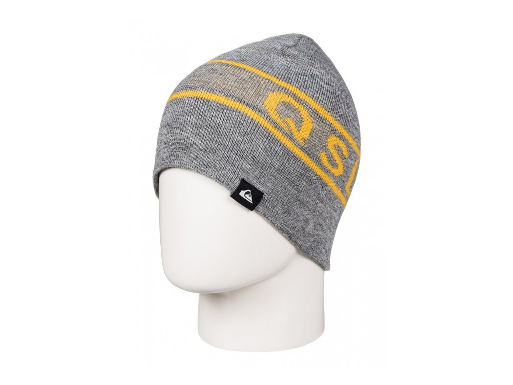 QUIKSILVER - čiapka KNOX BEANIE grey heather
