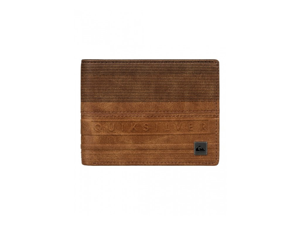 QUIKSILVER - peňaženka EVERYDAY STRIPE WALLET bone brown