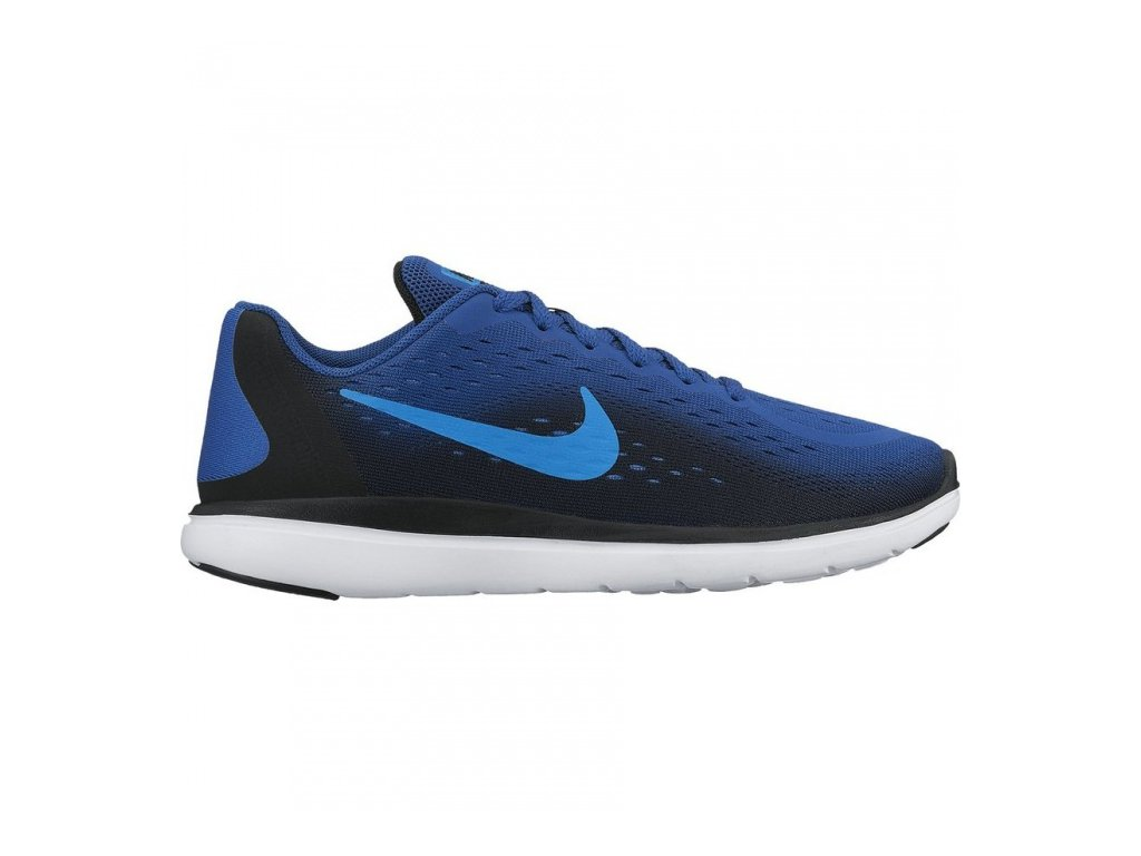 NIKE - obuv RUN FLEX 2017 RN (GS) RUNNING SHOE navy