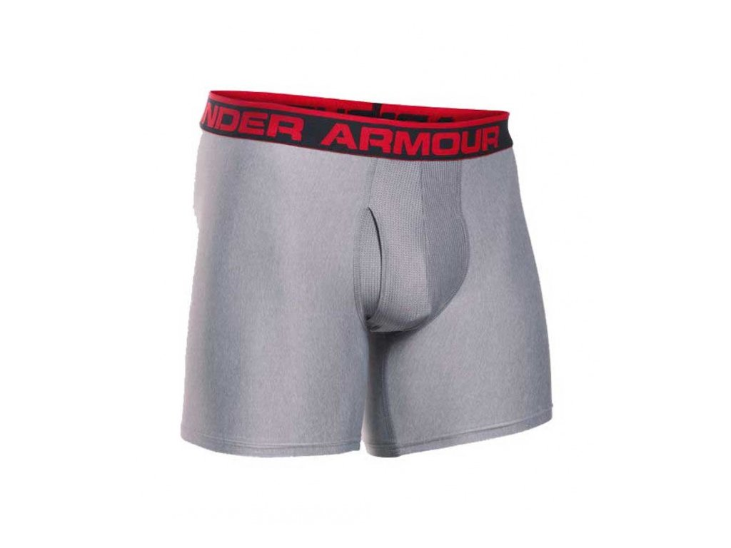 Under Armour - boxerky The Original 6\'\' BoxerJock true grey