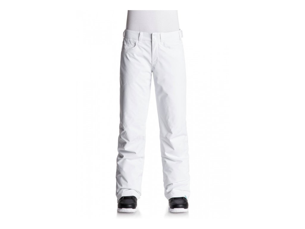 ROXY - nohavice OT BACKYARD PANT bright white
