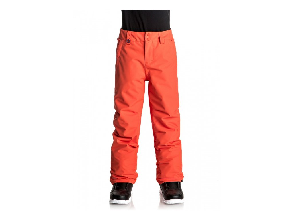 QUIKSILVER - nohavice OT ESTATE YOUTH PANT mandarin red