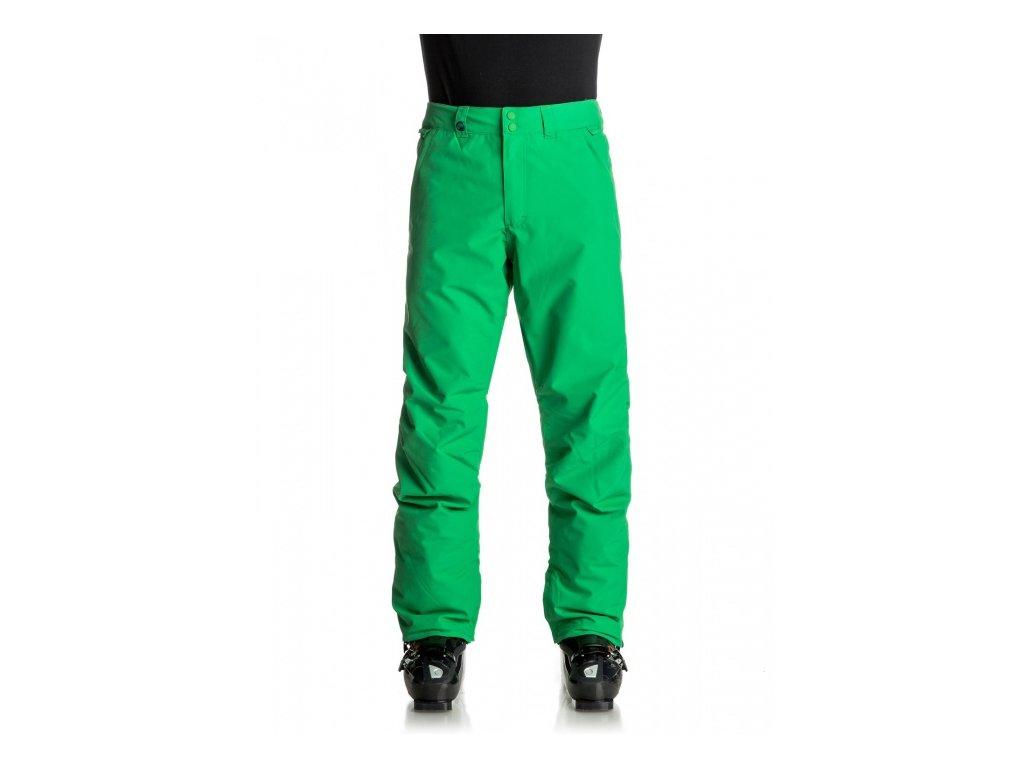 Quiksilver - nohavice OT ESTATE PANT kelly green