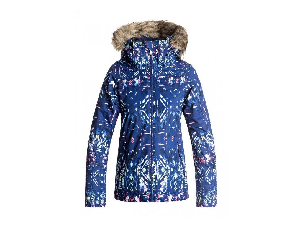 ROXY - bunda Z JET SKI GIRL JACKET blue ikat
