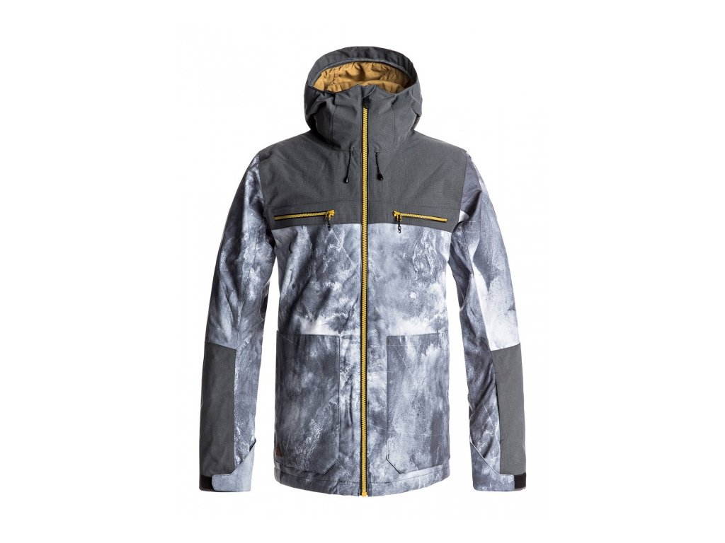 Quiksilver - bunda Z ARROW WOOD JACKET electric event