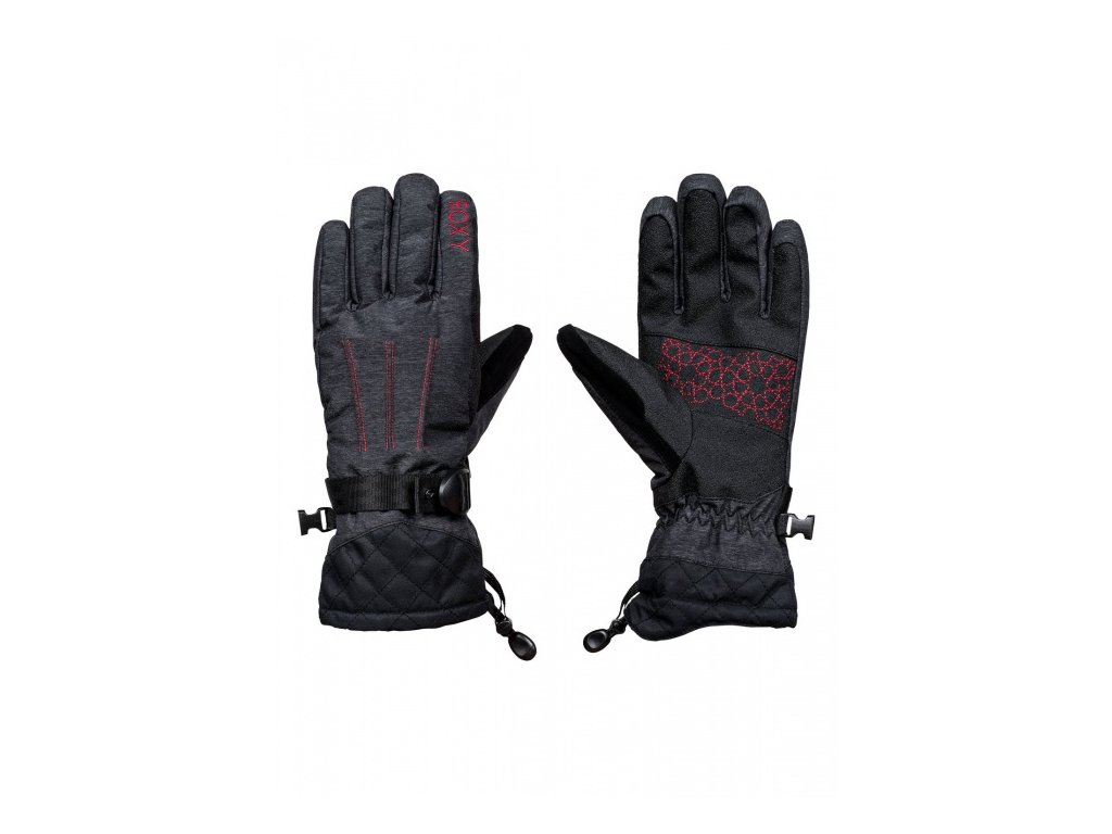 ROXY - rukavice L BIG BEAR GLOVES true black