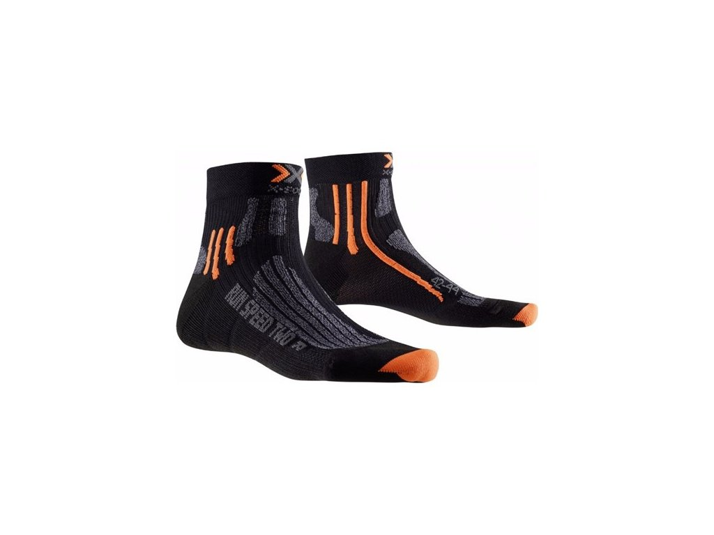 X-Bionic - ponožky X-SOCKS RUN SPEED TWO black