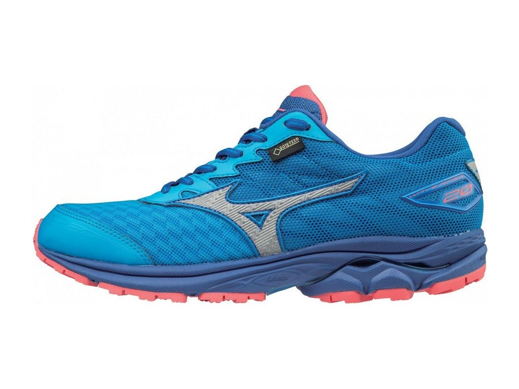 MIZUNO - obuv RUN WAVE RIDER 20 G-TX W blue aster