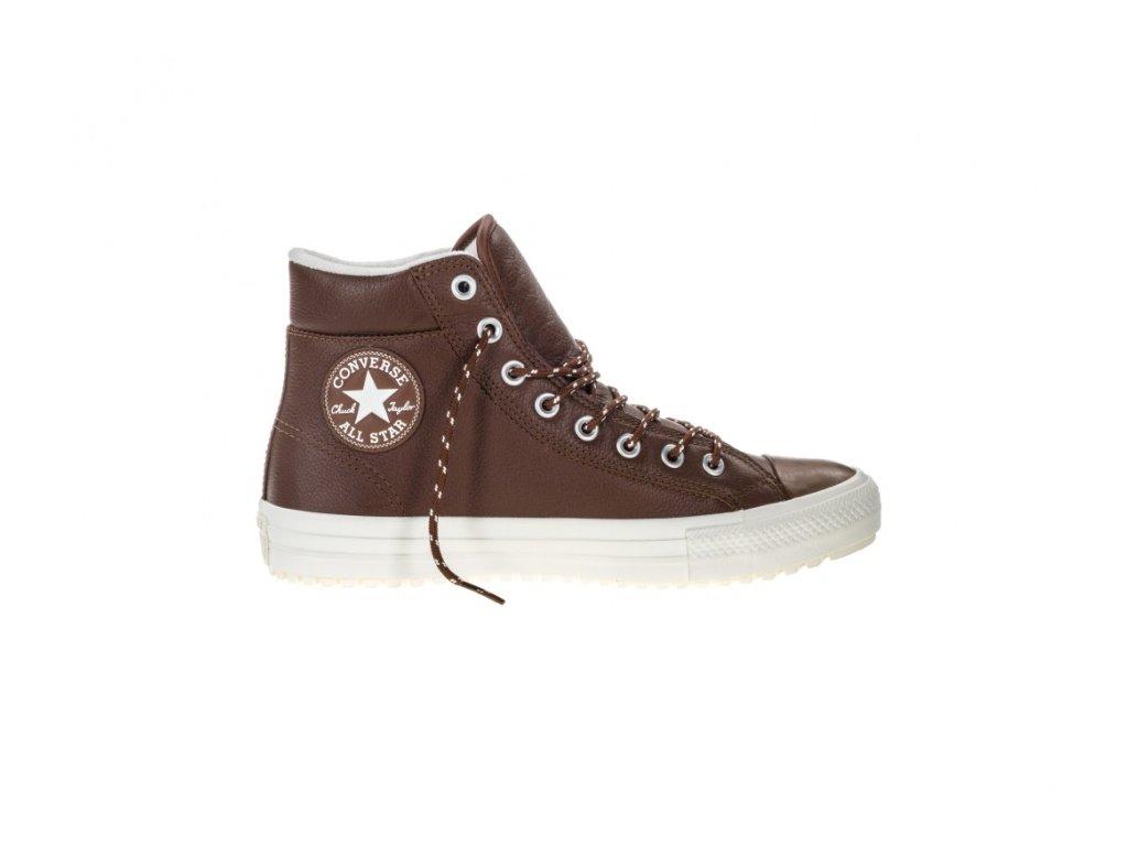 CONVERSE - obuv STR Chuck Taylor All Star Boot PC leather dark clove/egret