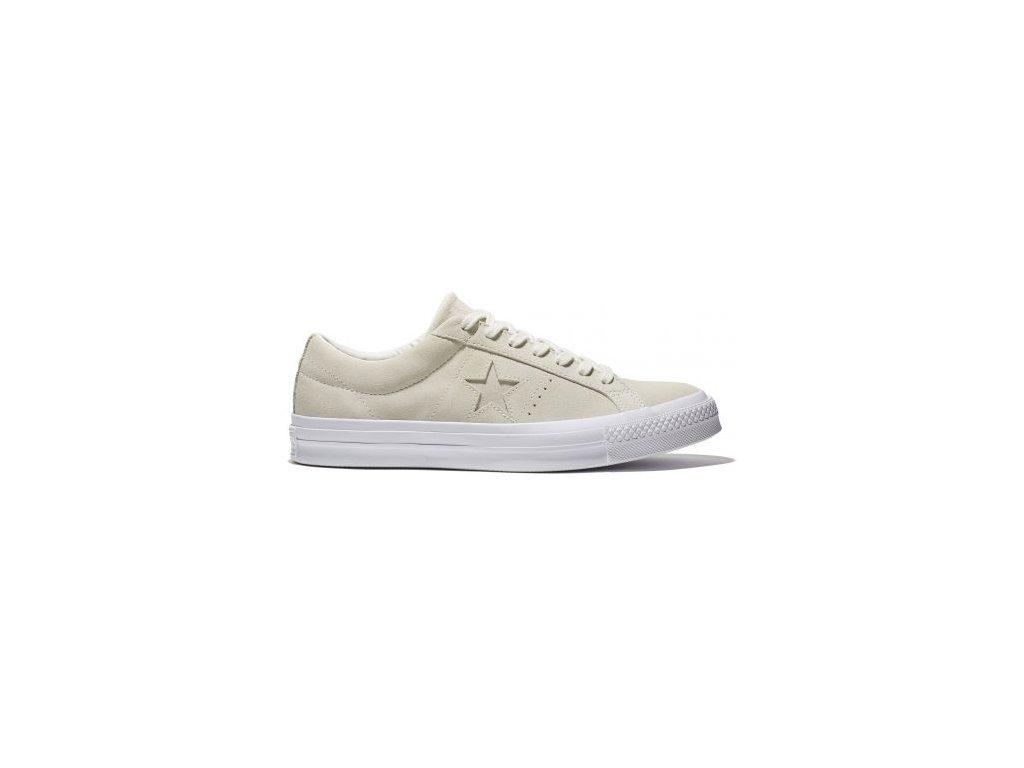 Converse  obuv  One Star egret/white
