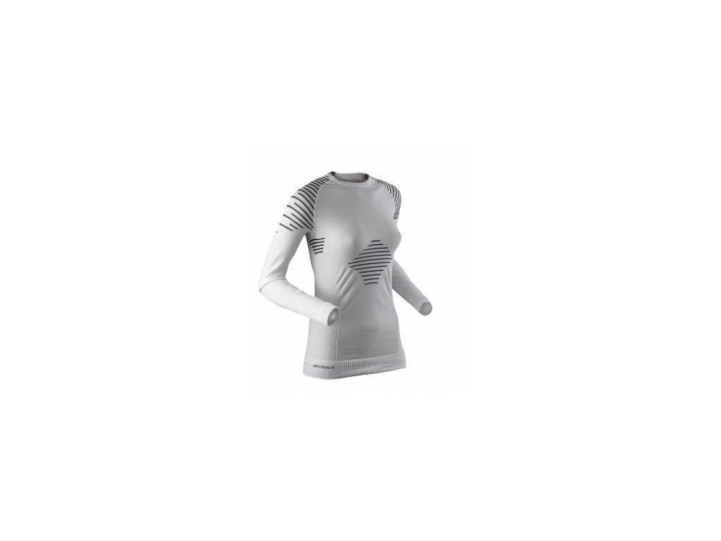 X-BIONIC - tričko T LADY INVENT UW SHIRT white/black