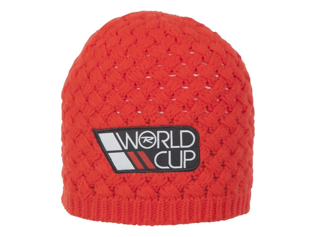 Rossignol - čiapka L3 WORLD CUP red