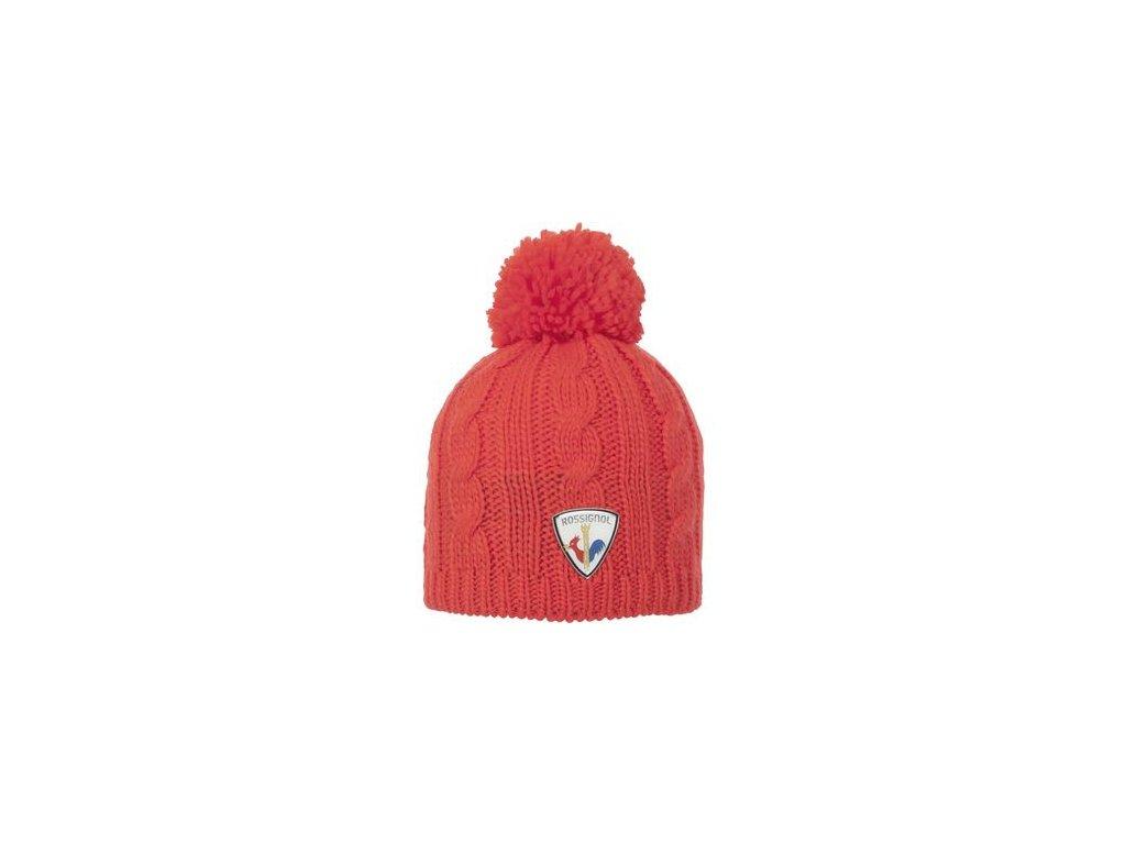Rossignol - čiapka L3 W HATEYA red