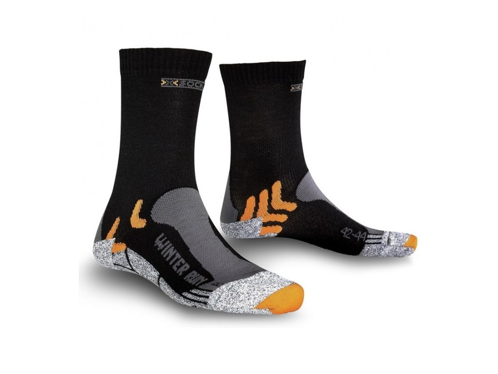 X-Socks ponožky T WINTER RUN black