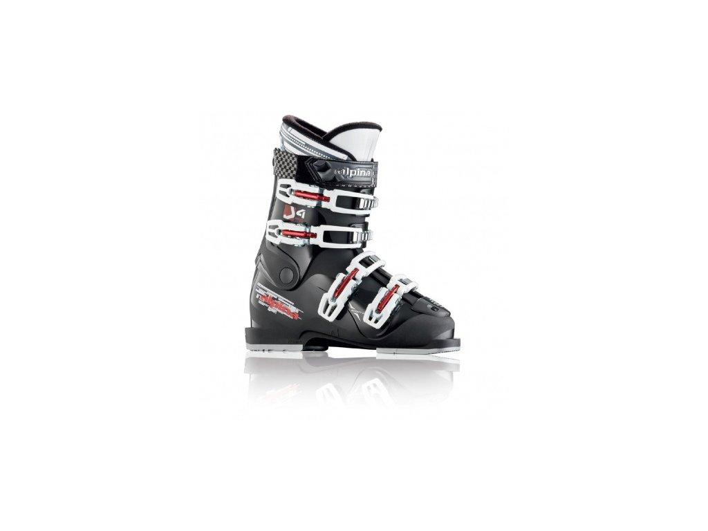 Alpina - lyžiarky J4 black juniorské 2017/2018