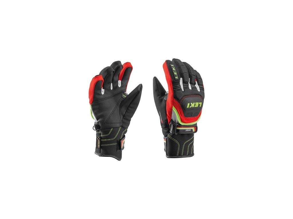 Leki - rukavice Glove Worldcup Race Coach Flex S GTX black