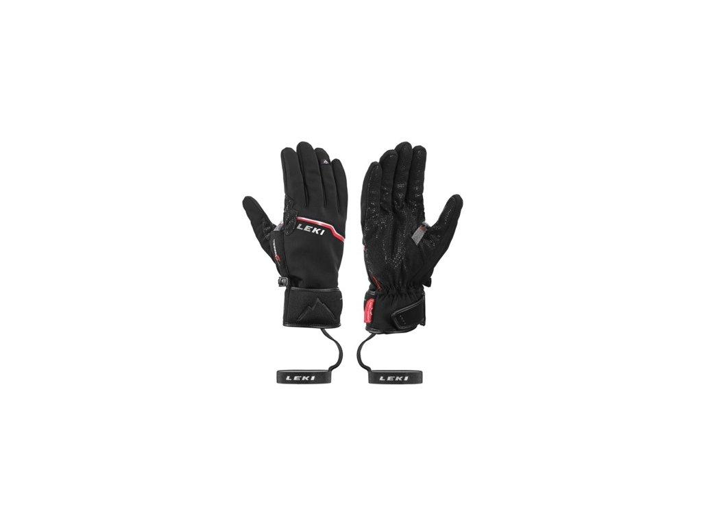 Leki - rukavice L Tour Precision Plus V black