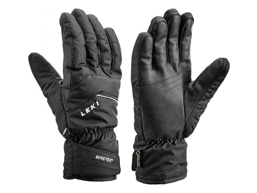 LEKI - rukavice L Apic GTX black