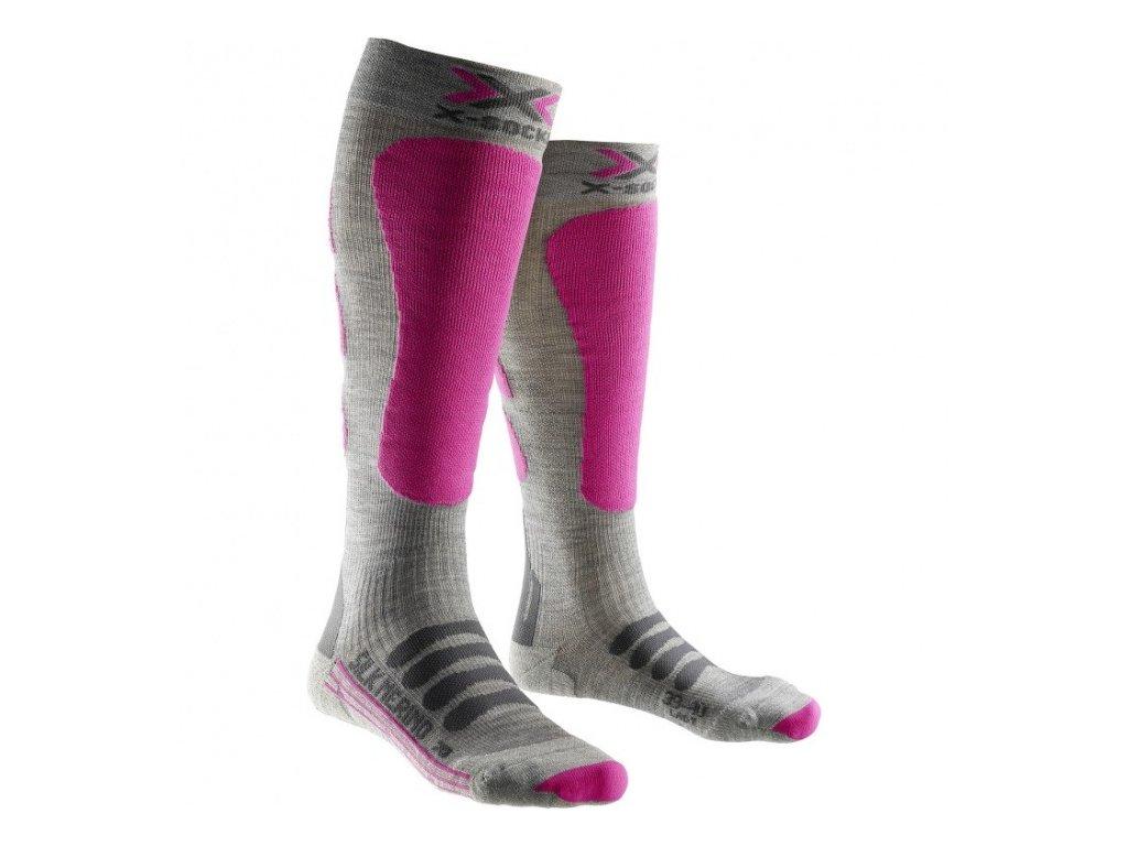 X-SOCKS ponožky T SKI SILK MERINO LADY