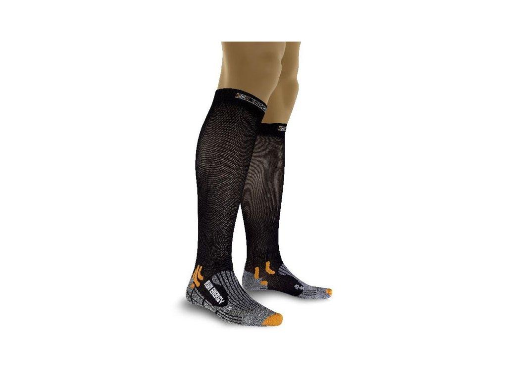 X-Bionic - ponožky RUN ENERGIZER Čierne
