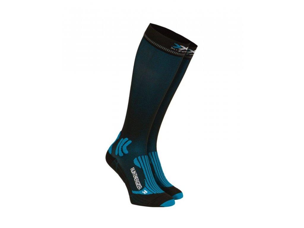 X-Bionic - ponožky RUN ENERGIZER Biele