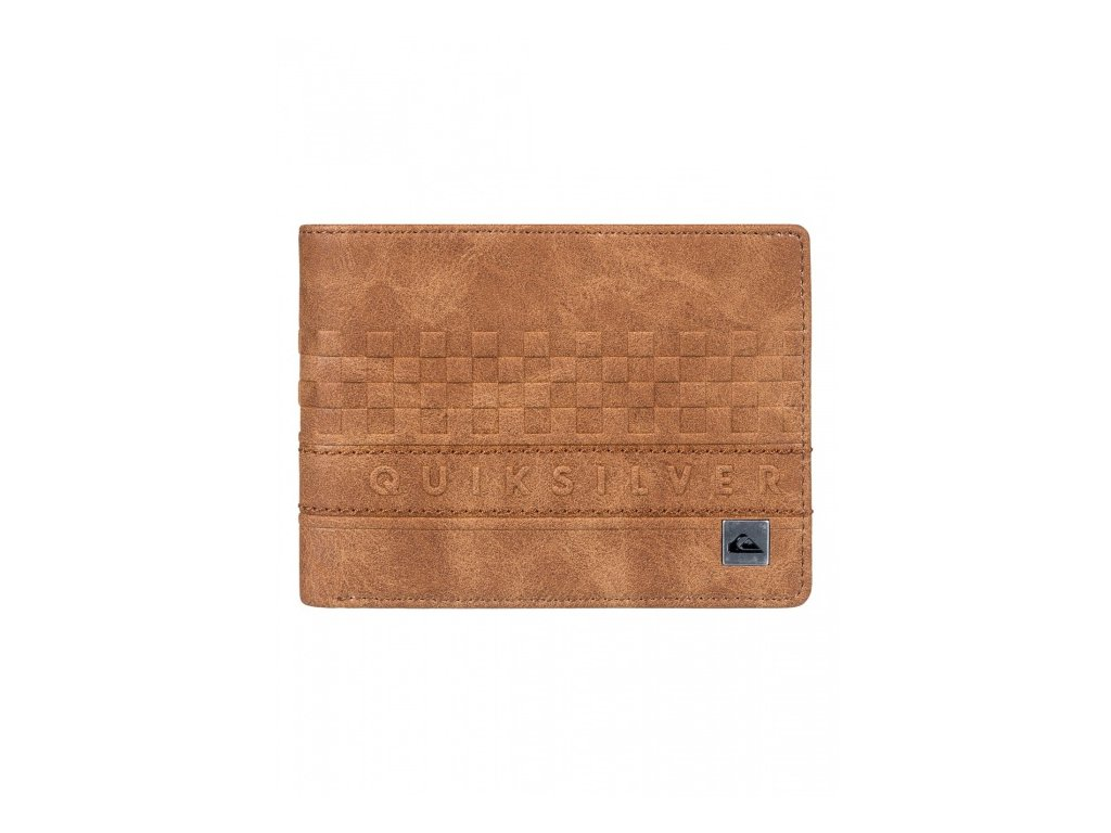 Quiksilver - peňaženka EVERYDAY STRIPE WALLET II tobacco brown