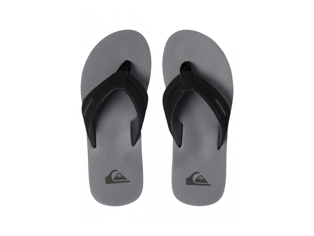 Quiksilver - šlapky ISLAND OASIS black/grey/grey