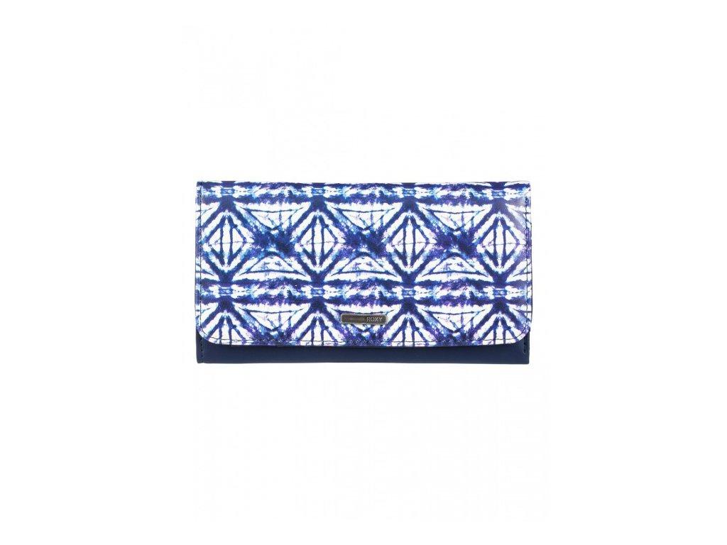 ROXY - peňaženka MY LONG EYES dress blues geometric feeling