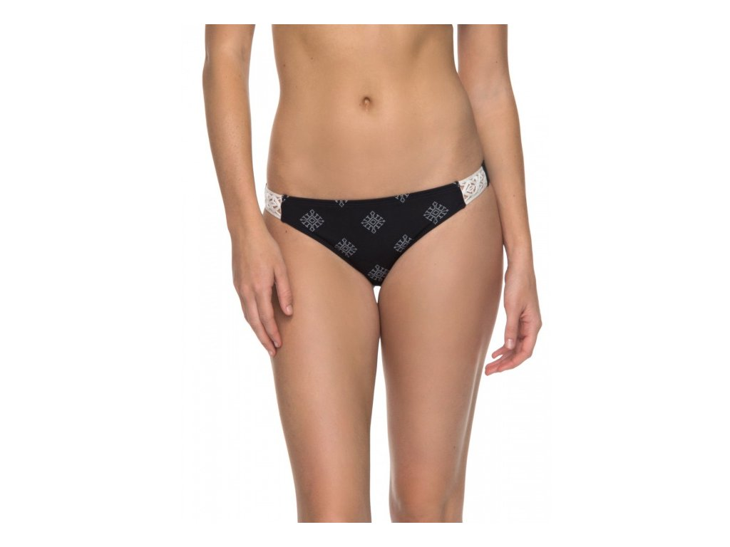 Roxy - plavky TAKE ME TO THE SEA SURFER anthracite pearly tiles