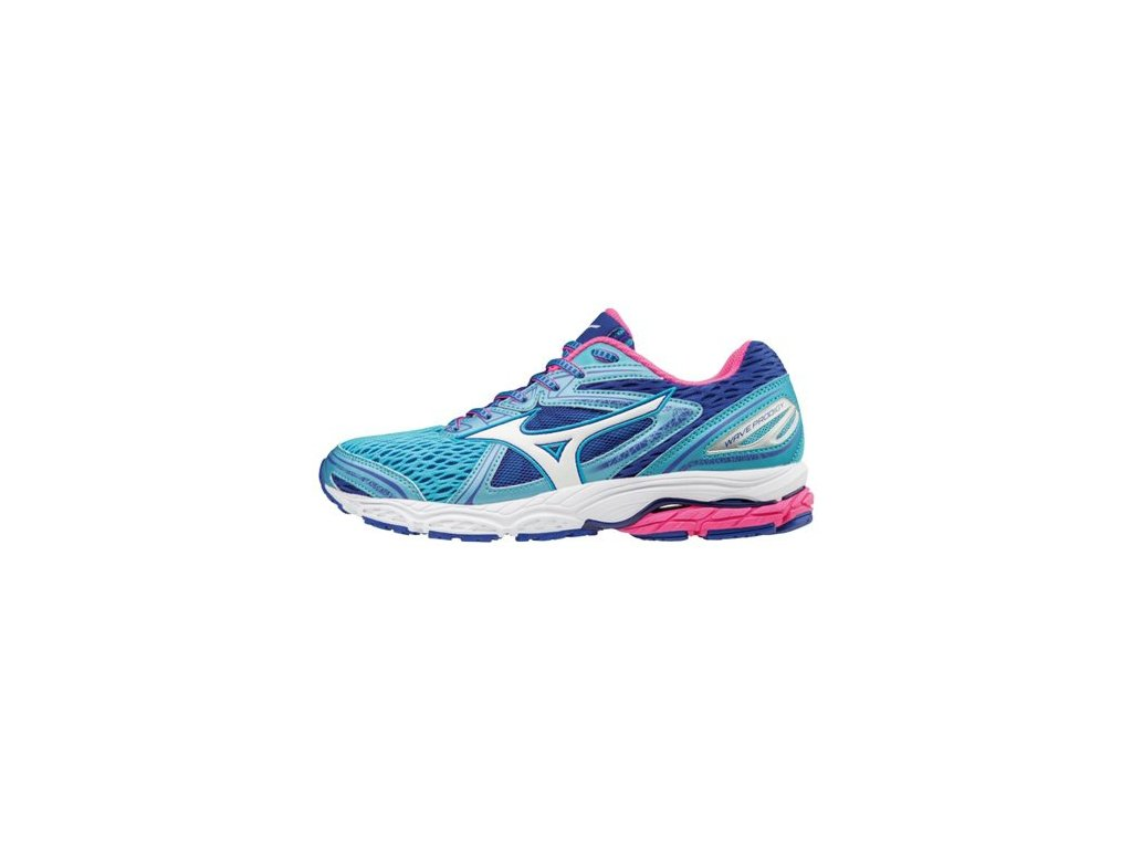 MIZUNO - obuv RUN WAVE PRODIGY AQUA/WHITE