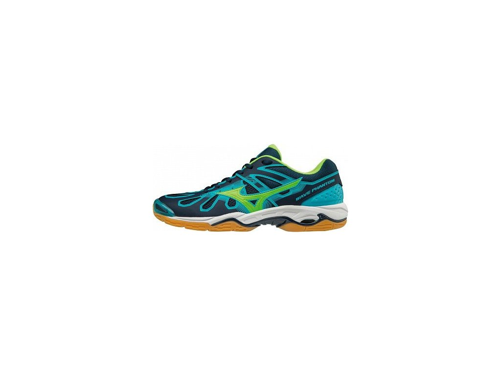 MIZUNO - obuv IN WAVE PHANTOM BLUE/GREEN
