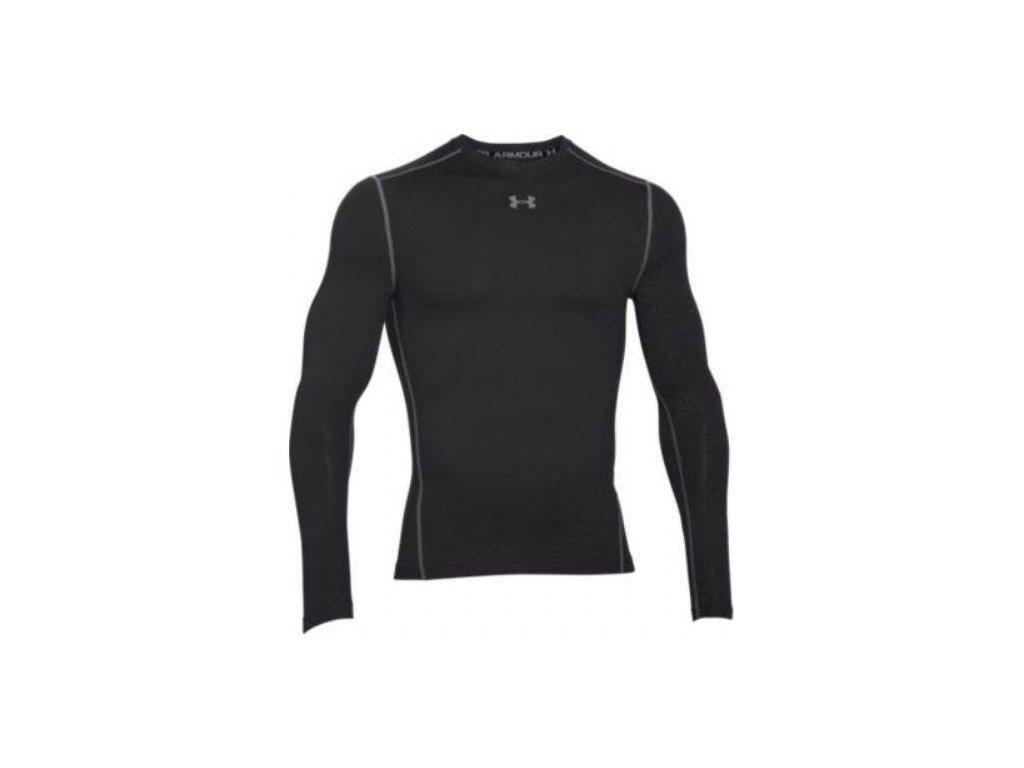 UNDER ARMOUR - tričko DR CG ARMOUR MOCK Black