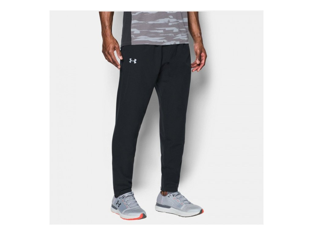 UNDER ARMOUR - tepláky STORM OUT & BACK SW PANT Black
