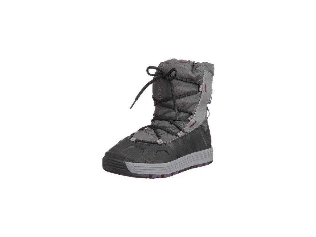 Adidas čižmy SNOW PL K DRKCIN Grey