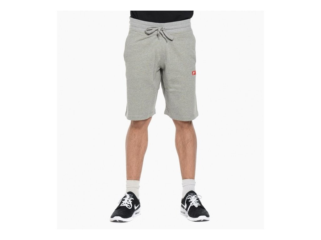šortky Nike AW77 FT  Dark grey heather