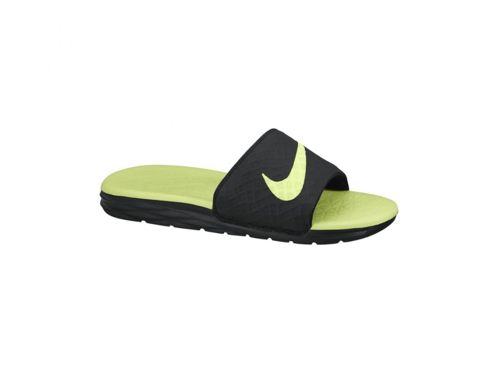 Nike - šľapky Benassi Solarsoft Slide black/yelow