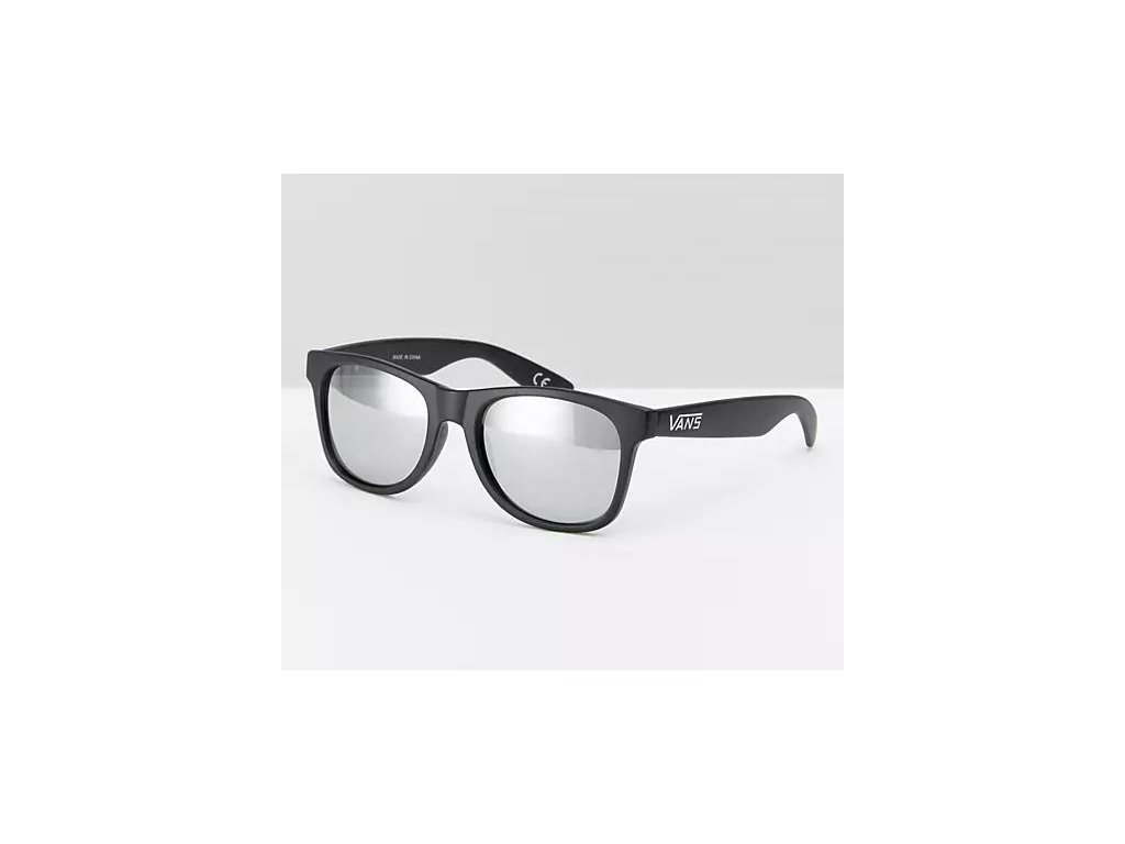 VANS - okuliare F SPICOLI 4 MATTE BLK/SIL VLC0CVQ