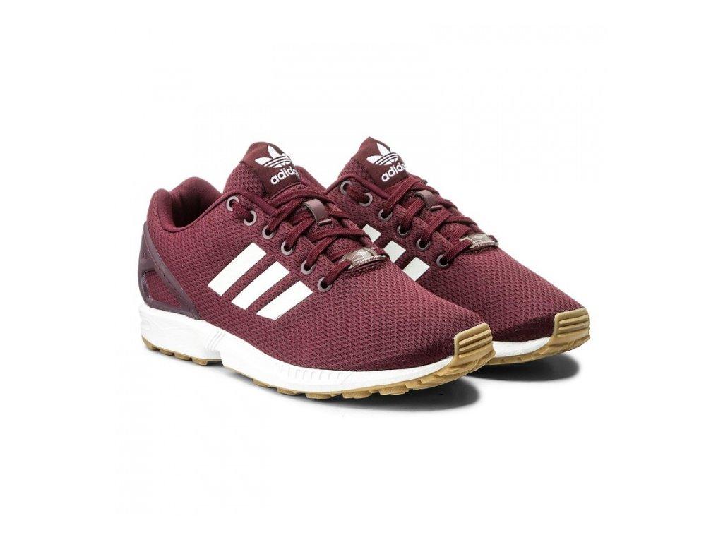 Adidas  obuv  ZX FLUX maroon
