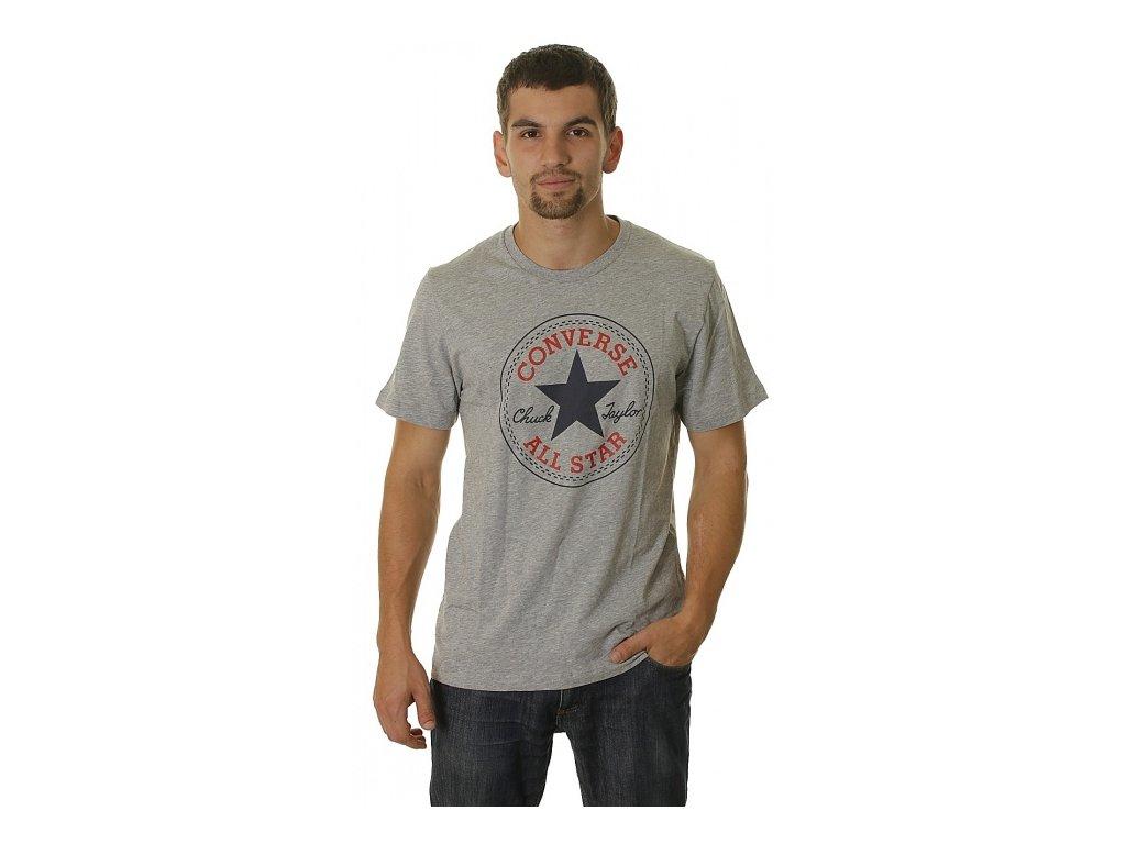 CONVERSE - tričko KR AMT M19 CORE CP TEE gray