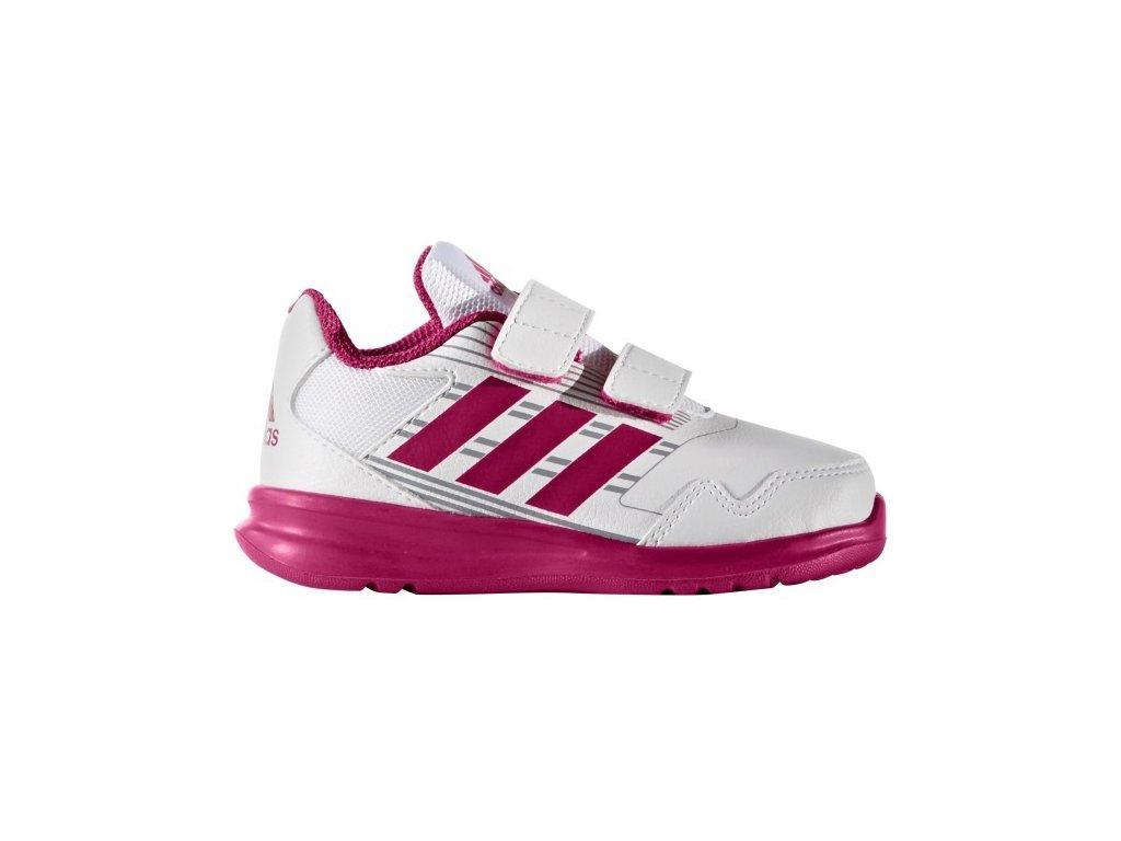 Adidas  obuv  AltaRun CF I white/pink