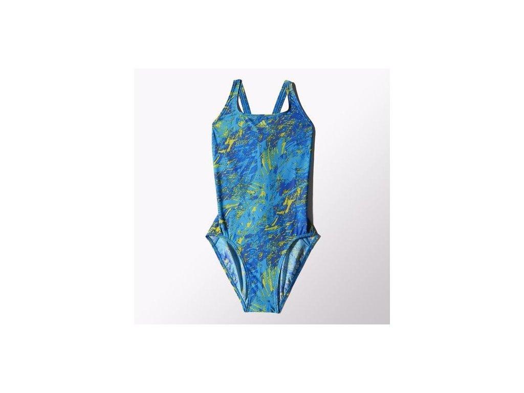 plavky FAV AO GR 1PC 2      bold blue
