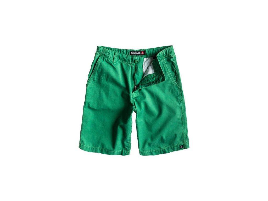 Quiksilver šortky Minor Rd Y B green