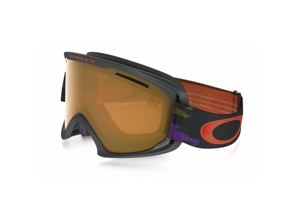 Oakley okuliare O2 XL Distressed Paint purple lIron w/Persimmon 16/17