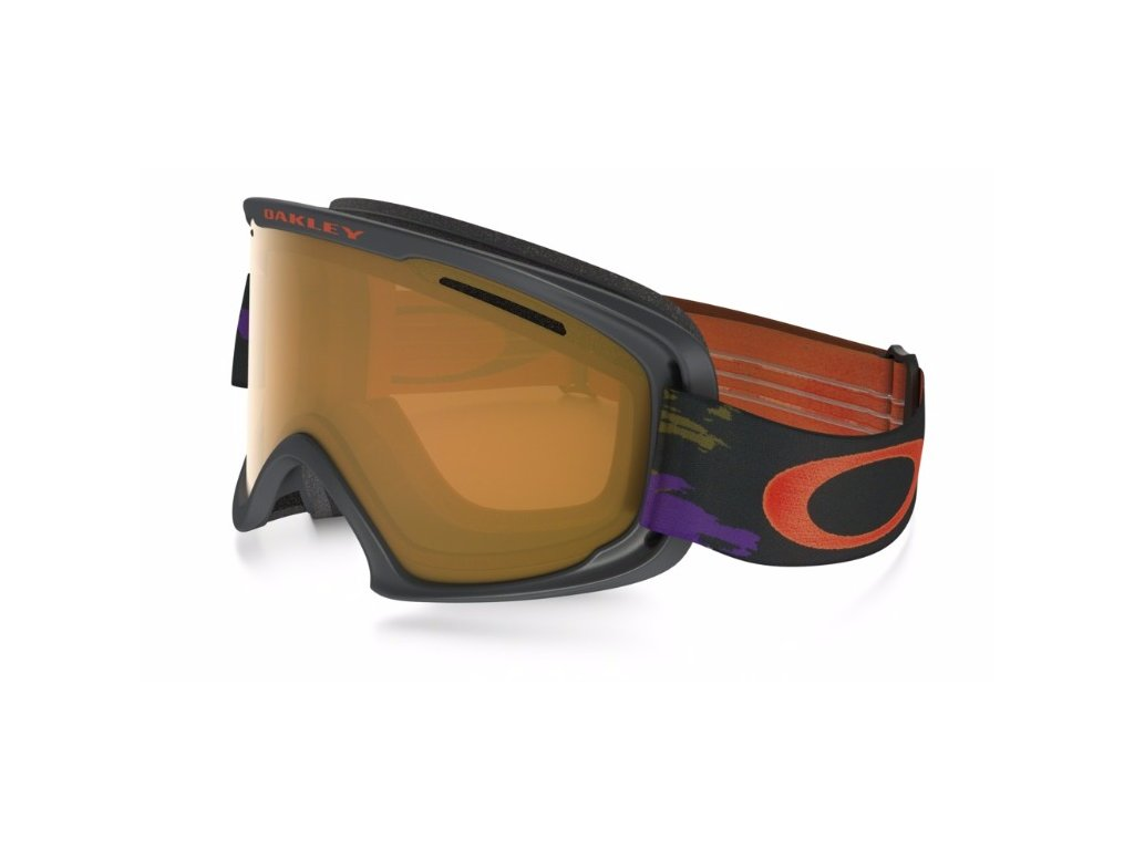 OAKLEY - okuliare O2 XL Distressed Paint purple lIron w/Persimmon
