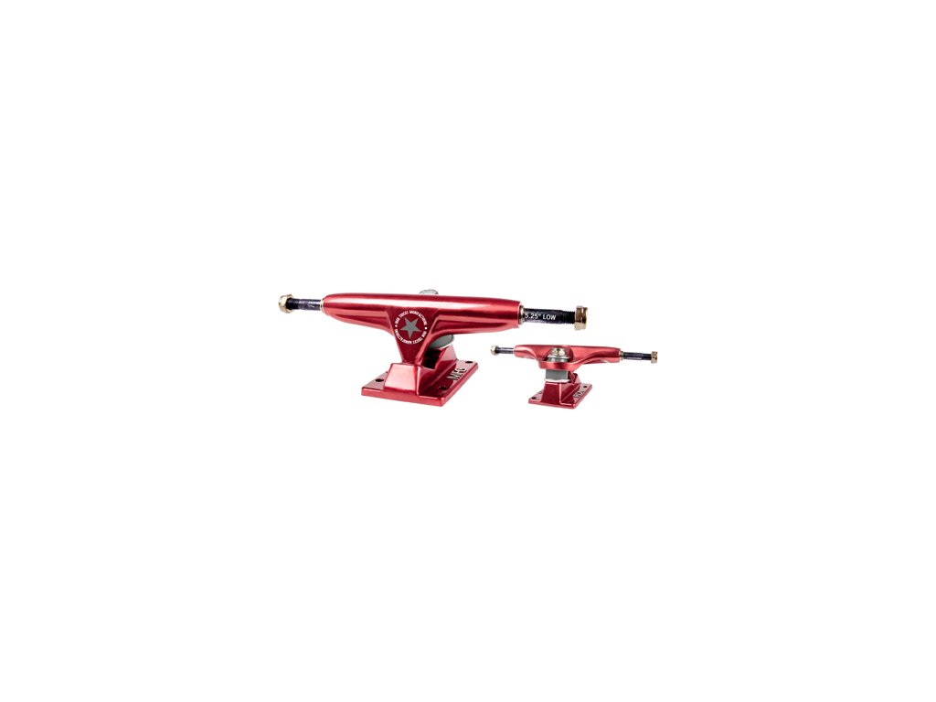 """Iron truck Red 5.25"""" Low red"""