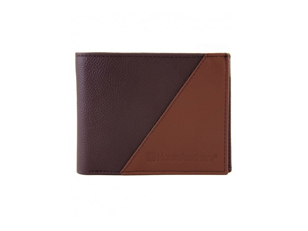 Horsefeathers - peňaženka JEFF WALLET brown