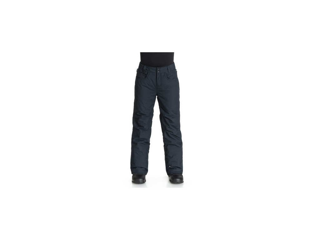 Quiksilver - nohavice OT State Yth Pant B anthracite
