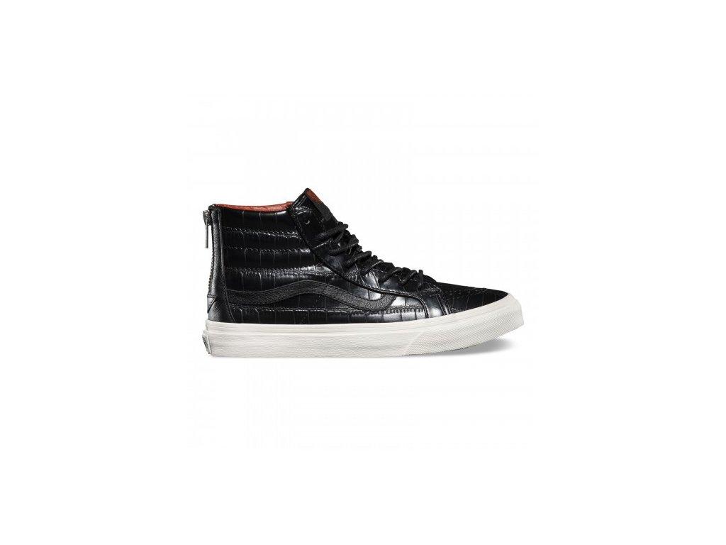 Vans  obuv  U SK8HI SLIM ZIP croc leather