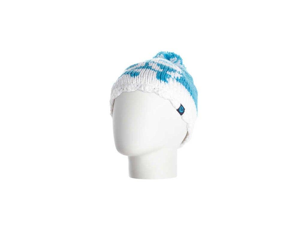 Roxy - čiapka FJORD GIRL G Modrá, biela