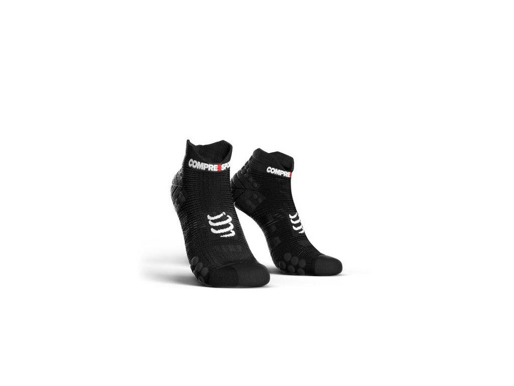 COMPRESSPORT - ponožky RSLV3-9999 Run LO V3.0 black - Belda.sk fc3fab2a60
